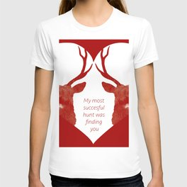 Stag love T-shirt