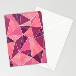 Pattern, pink Stationery Cards