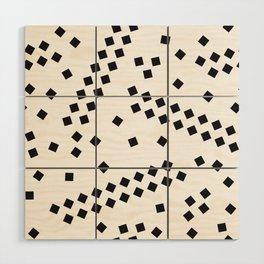 square elements Wood Wall Art