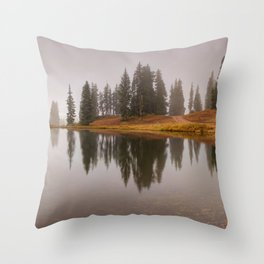 Colorado Fall Colors Panorama at Crested Butte Mountain Resort. Throw Pillow
