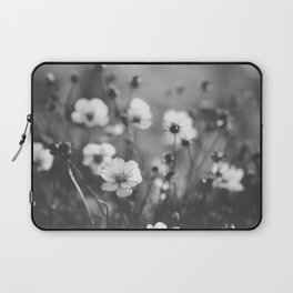 black and white cosmos Laptop Sleeve