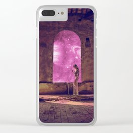 QUEEN OF THE UNIVERSE Clear iPhone Case