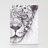 jaguar Stationery Cards featuring Jaguar by Fennec Reasons