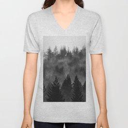 Charcoal Forest Fog - 26/365 Unisex V-Neck