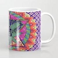 namaste Mugs featuring namaste by Natasha Marie