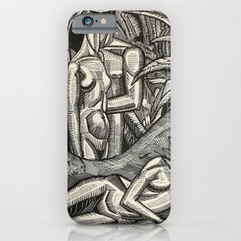 Contemplation, Engraving from Song of Solomon, 1929 by Cecil Buller iPhone Case