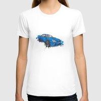 subaru T-shirts featuring Subaru Impreza by Claeys Jelle Automotive Artwork