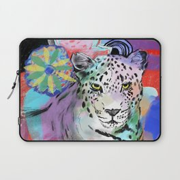 Electric Leopard Laptop Sleeve