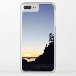 Tofino Sunset Clear iPhone Case
