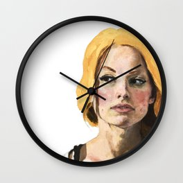Sunshine Girl Wall Clock