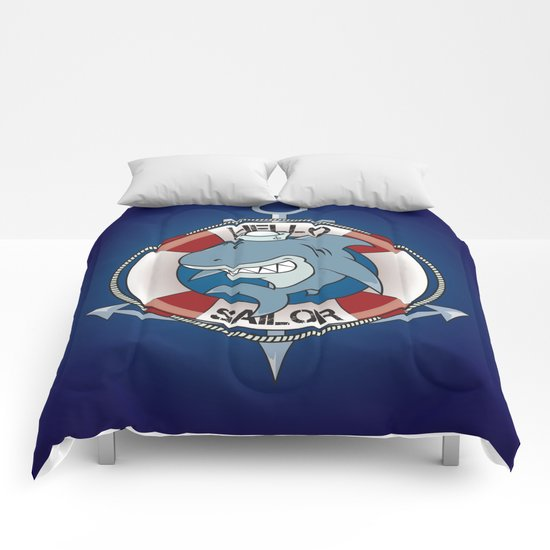 Hello sailor! Comforters