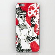 Deadly Barista iPhone Skin