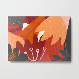 Autumn Abstract 3 Metal Print
