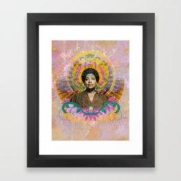 Praise Lorde: Art Godis Audre Lorde Framed Art Print