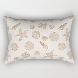 Beach Treasures Rectangular Pillow