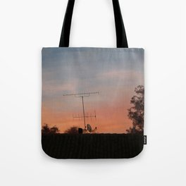 Out of my window Tote Bag