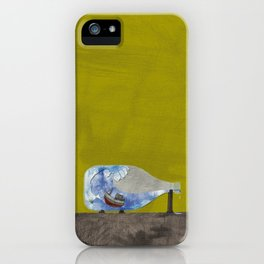 tossed to sea // jonah & the whale iPhone Case