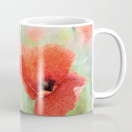 poppies in the meadow 170 Coffee Mug
