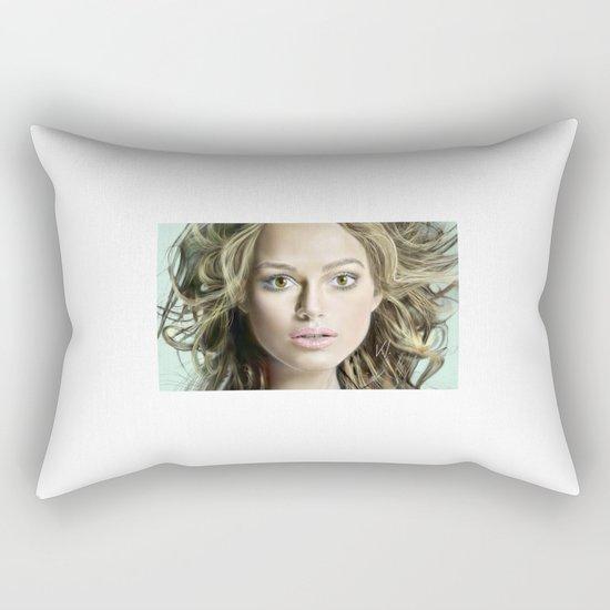 Keira Knightley Rectangular Pillow