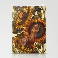 autumn Stationery Cards featuring Autumn by Kate O'Hara Illustration