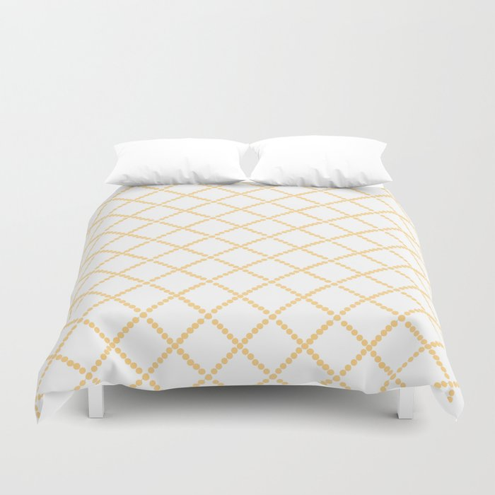 Criss Cross Duvet Cover