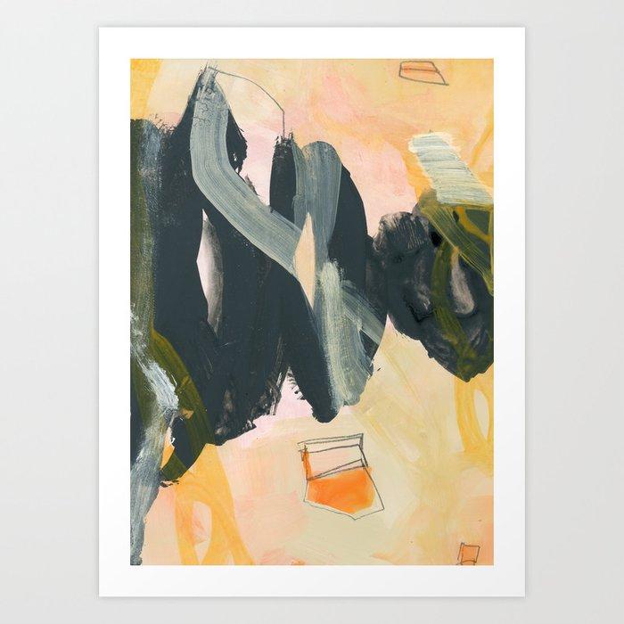 abstract painting IV Kunstdrucke