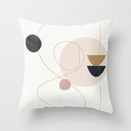 Abstract Minimal Art 31 Throw Pillow