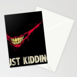 Just Kidding. Stationery Cards