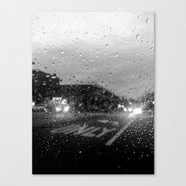 Rain in Ridgewood Canvas Print