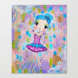 Ande Ballerina Dew Drop Fairy Canvas Print