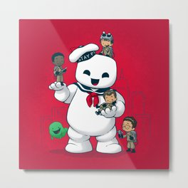 Puft Buddies Metal Print