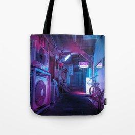 Tokyo Nights / Blue Monday / Liam Wong Tote Bag