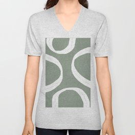 Abstract Lines I Unisex V-Neck