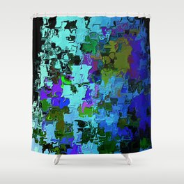 The Prophecy of Time Shower Curtain