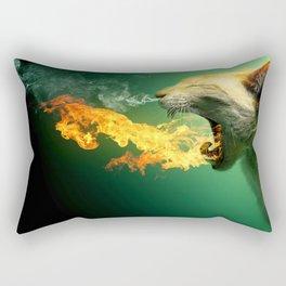 Tension of Cat Rectangular Pillow