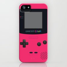 GAMEBOY Color - Pink Version iPhone (5, 5s) Slim Case