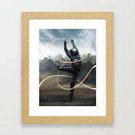 De-escalation Dance Framed Art Print