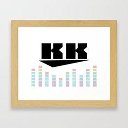 DJ KK v3 Framed Art Print