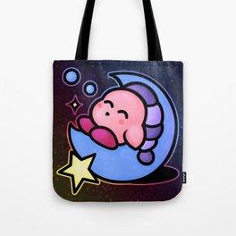 Kirby Sleep (no text) Tote Bag