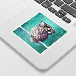 Intellectual Owl Sticker