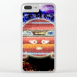 Inka Mask Clear iPhone Case