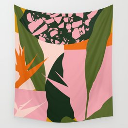 Bird of Paradise Wall Tapestry