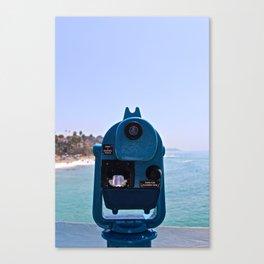 Pier view 2 Canvas Print