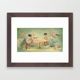 The Mermaid Dream by Emily Winfield Martin Framed Art Print