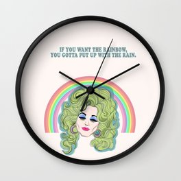If you want the rainbow.... Wall Clock