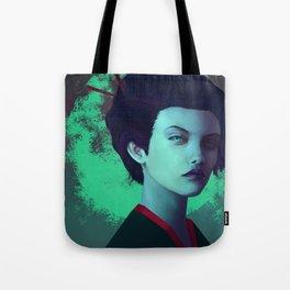 Moon Girl Tote Bag