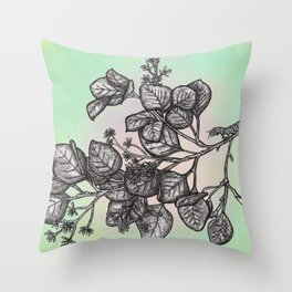 """Get Floral """"Earthly Measure Throw Pillow"""