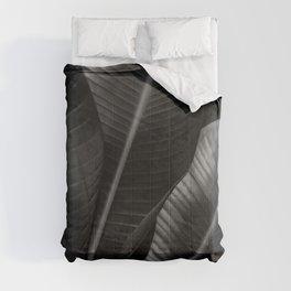 Banana leaf allure - night Comforters