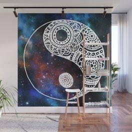 Galaxy Yin Yang Wall Mural
