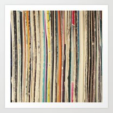 Record Collection Art Print